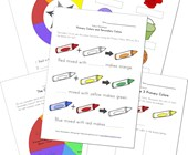 learn about colors worksheets