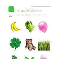 Recognize Green