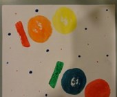 100 Days of School Potato Patterns Craft