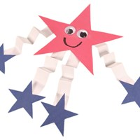 4th of July Star Man