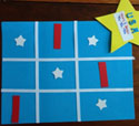 4th of july tic-tac-toe