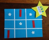 Stars and Stripes Tic-Tac-Toe