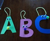 Alphabet Buddies Craft
