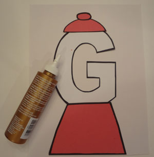 Letter g craft gumball machine all kids network pronofoot35fo Images
