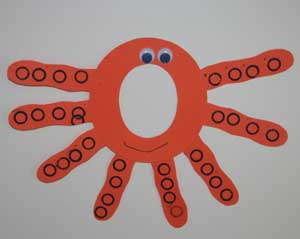 letter o octopus craft