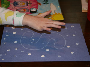 fingerprint snow craft