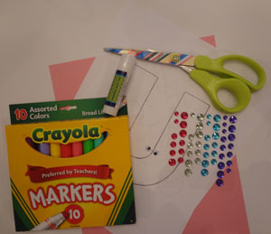 letter u unicorn craft materials