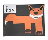 Letter F is for Fox Craft
