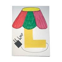 Letter L Lamp Craft