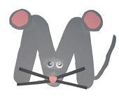 Letter M Mouse Craft