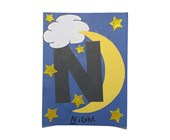 Letter N Night Craft