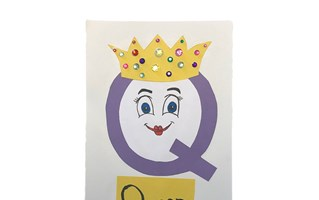 Letter Q Queen Craft