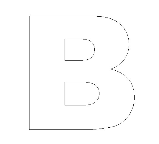 alphabet felt board craft crafts print your letter b template all kids network