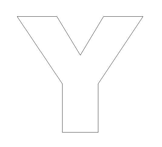 Alphabet Felt Board Craft Crafts Print Your Letter Y Template