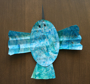 kids hummingbird craft
