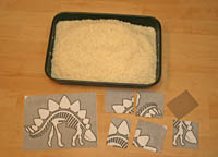 Dinosaur Fossil Puzzle Dig