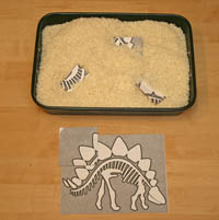 dinosaur fossil game