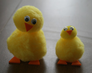 baby chicks craft