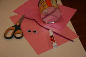 piggy bank craft materials