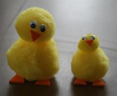 Pom-Pom Chick Craft