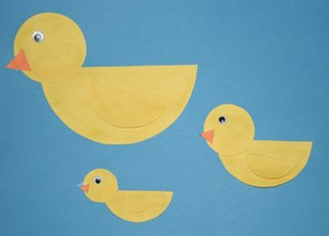 Shape Duck Craft
