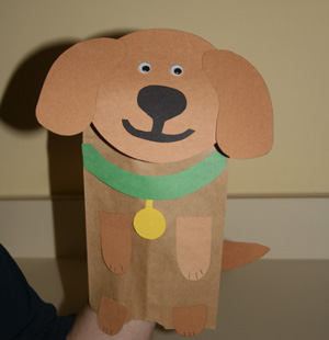 kids dog craft