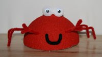 Styrofoam Crab Craft