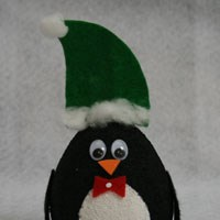 Styrofoam Penguin Craft