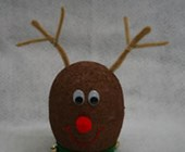 Styrofoam Reindeer Craft