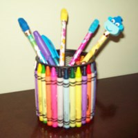 Colorful Pencil Holder Craft