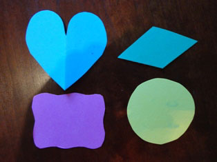 cardstock shapes