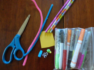 pencil toppers craft materials