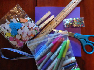 glasses case craft materials