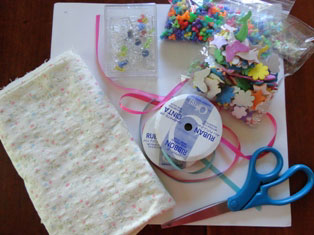bulletin board craft materials