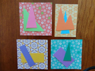 paper shapes craft