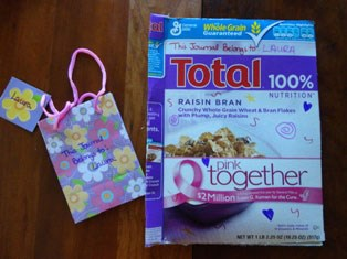 Cereal Box and Gift Bag Notebooks