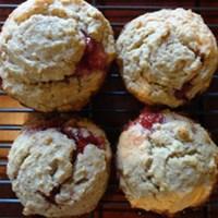 Peanut Butter and Jelly Remix Muffins