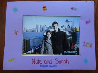 Picture Perfect School Days Picture Frame
