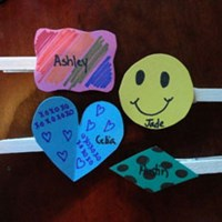 Personalized Snack Clips Craft