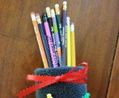 Soup-er Pencil Holder Craft