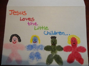 kids bible jesus craft