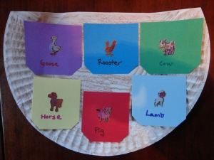 noahs ark matching game craft