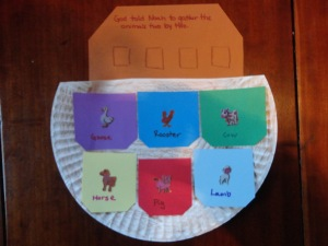 noahs ark craft for kids