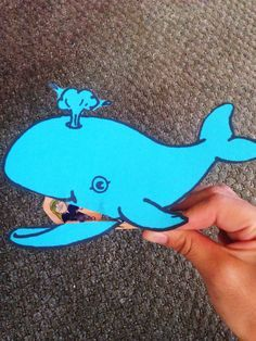 Jonah Clothespin Whale