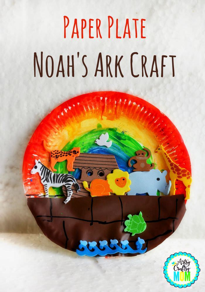 Noah Paper Plate Ark Craft