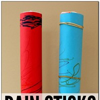 Noah Rain Sticks Crafts