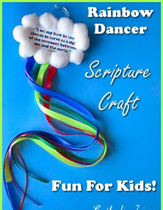 Rainbow Dancer Scripture Craft