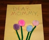 Flowers Birthday Card Craft