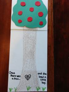 the giving tree craft