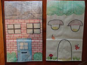 paper bag houses craft